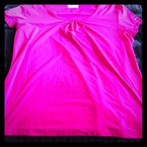🥳 3/$30 💕Columbia NWOT Hot Pink Exercise Shirt L